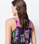 Warehouse, PALM PRINT BEACH PLAYSUIT Multi 4