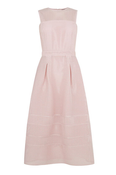 Warehouse, Formed Linear Prom Dress Light Pink 0