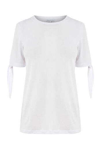 Warehouse, TIE SLEEVE TEE White 0