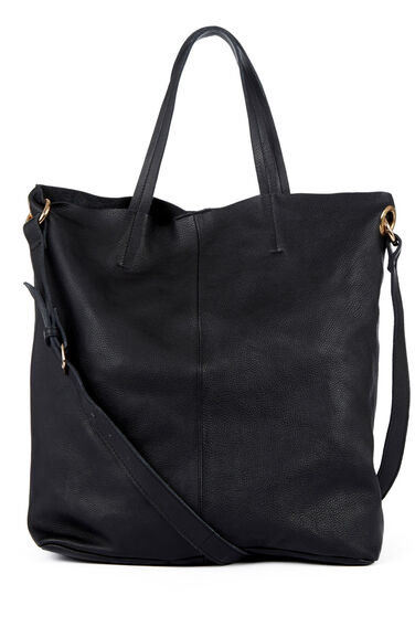 Warehouse, Eyelet Detail Shopper Black 0