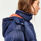 Warehouse, Fashion Padded Coat Navy 4