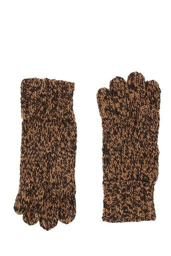 Warehouse, Gespikkelde bruine handschoenen Bruin 0