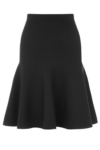 Warehouse, FLIPPY MINI SKIRT Black 0