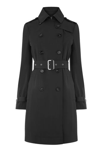 Warehouse, Classic Trench Black 0