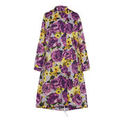 Warehouse, Peony Pop Windbreaker Purple Pattern 0