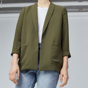 Warehouse, RELAXED FIT JACKET Khaki 4