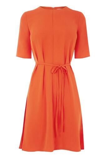 Warehouse, Zwierige jurk Helderrood 0