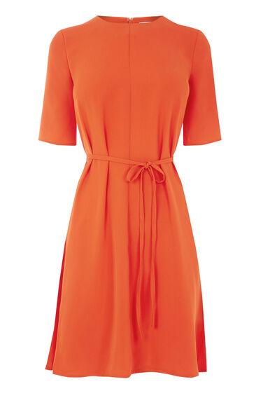 Warehouse, FLIPPY DRESS Bright Red 0