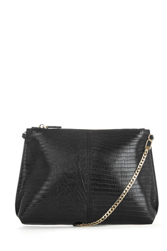 Warehouse, CHAIN STRAP CROSS BODY BAG Black 0