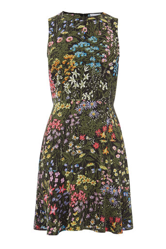 Warehouse, WILD GARDEN DRESS Multi 0