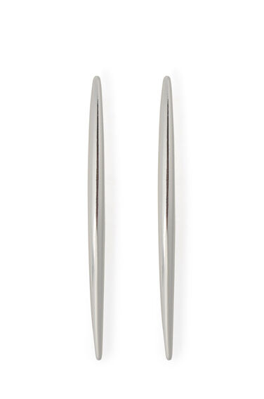 Warehouse, Gold Plated Spear Stud Earring Silver Colour 0