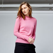 Warehouse, WOOL CREW JUMPER Bright Pink 1