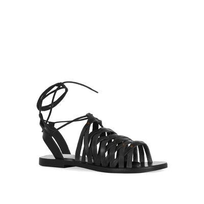 Strappy Tie Sandal
