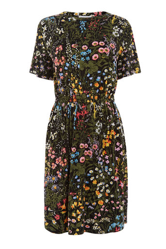 Warehouse, WILD GARDEN PRINT DRESS Multi 0