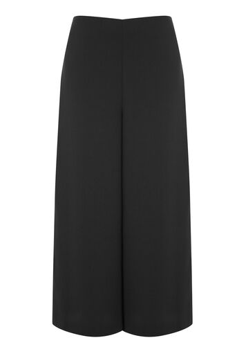 Warehouse, SPLIT SIDE CULOTTES Black 0