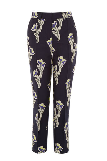 Warehouse, IRIS JACQUARD TROUSERS Multi 0