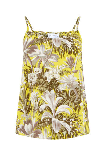 Warehouse, AMAZON PRINT CAMI Yellow 0