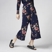 Warehouse, PAINTED FLORAL CULOTTES Multi 1