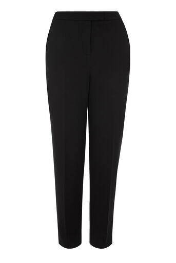 Warehouse, CLASSIC SLIM LEG TROUSER Black 0