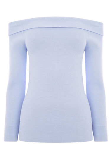 Warehouse, BARDOT JUMPER Lilac 0