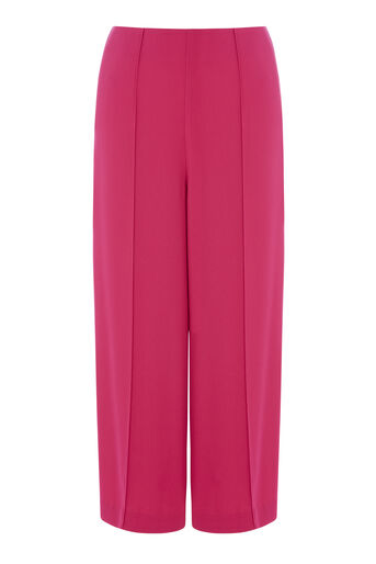Warehouse, PINTUCK CULOTTES Bright Pink 0