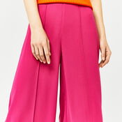 Warehouse, PINTUCK CULOTTES Bright Pink 4