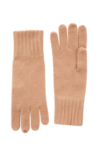 Warehouse, CASHMERE GLOVES Camel 0