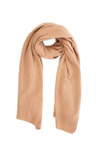Warehouse, CASHMERE SCARF Camel 0