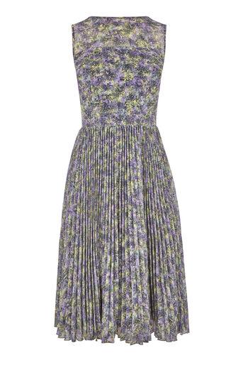 Warehouse, Midi-jurk met plooirok Veelkleurig 0
