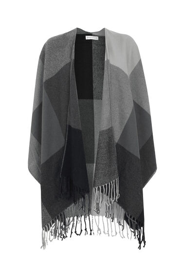 Warehouse, Check Cape Grey Pattern 0