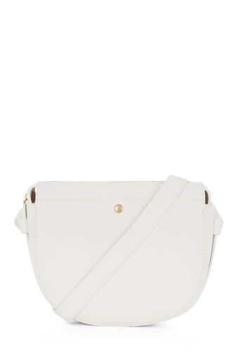 Warehouse, POCKET POPPER CROSSBODY BAG White 0