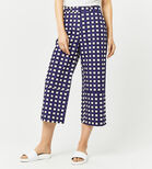 Warehouse, CROPPED GINGHAM TROUSER Multi 3