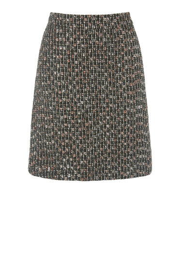 Warehouse, SPARKLE TWEED PELMET SKIRT Multi 0