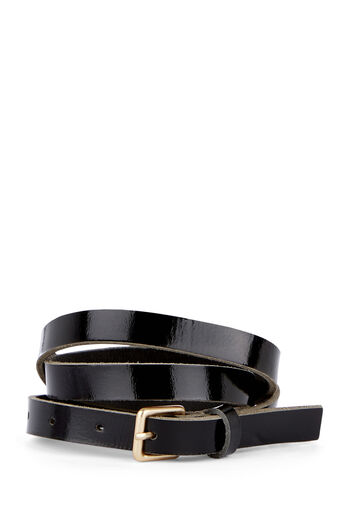 Warehouse, LEATHER BELT Black 0