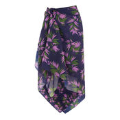 Warehouse, PALM PRINT 3 WAY COVER UP Multi 0