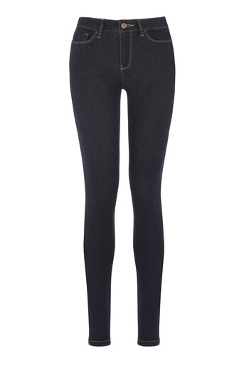 Warehouse, Powerhold Skinny Cut Jeans Indigo Denim 0