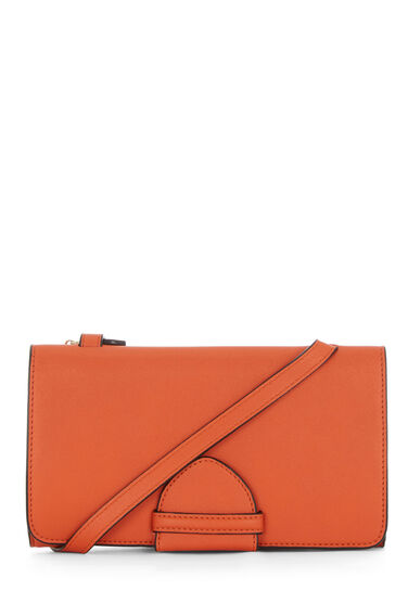 Warehouse, KEEPER CROSS BODY BAG Orange 0