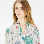 Warehouse, ORIENTAL FLORAL SHIRT Multi 4