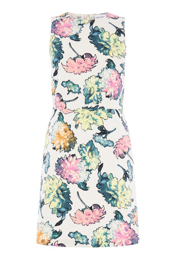Warehouse, DECOUPAGE FLORAL DRESS Multi 0
