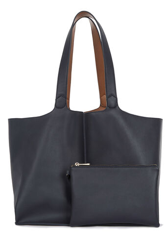 Warehouse, Reversible Shopper Bag Navy 0