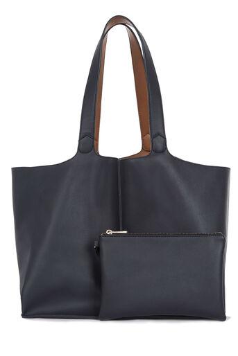 Warehouse, Reversible Shopper Bag Navy 0