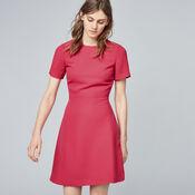 Warehouse, CROSS BACK DRESS Bright Pink 1