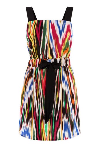 Warehouse, RAINBOW IKAT DRESS Multi 0