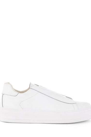 Warehouse, ELASTIC DETAIL TRAINER White 0