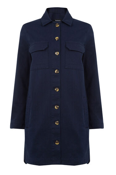 Warehouse, Four Pocket Jacket Navy 0