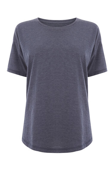 Warehouse, CASUAL TEE Indigo 0