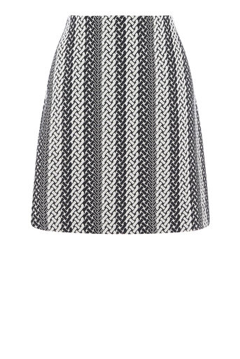 Warehouse, LINK JACQUARD SKIRT Multi 0