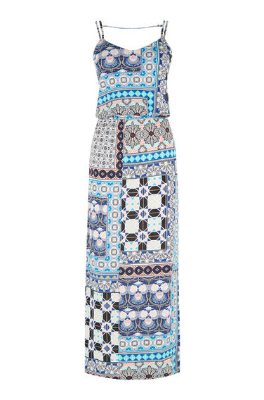 Warehouse, PRAIRIE PRINT MIDI DRESS Multi 0