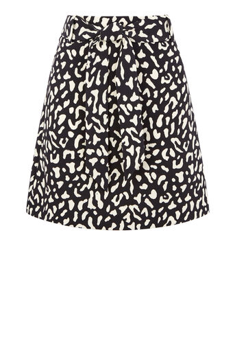 Warehouse, ANIMAL PRINT PELMET SKIRT Multi 0