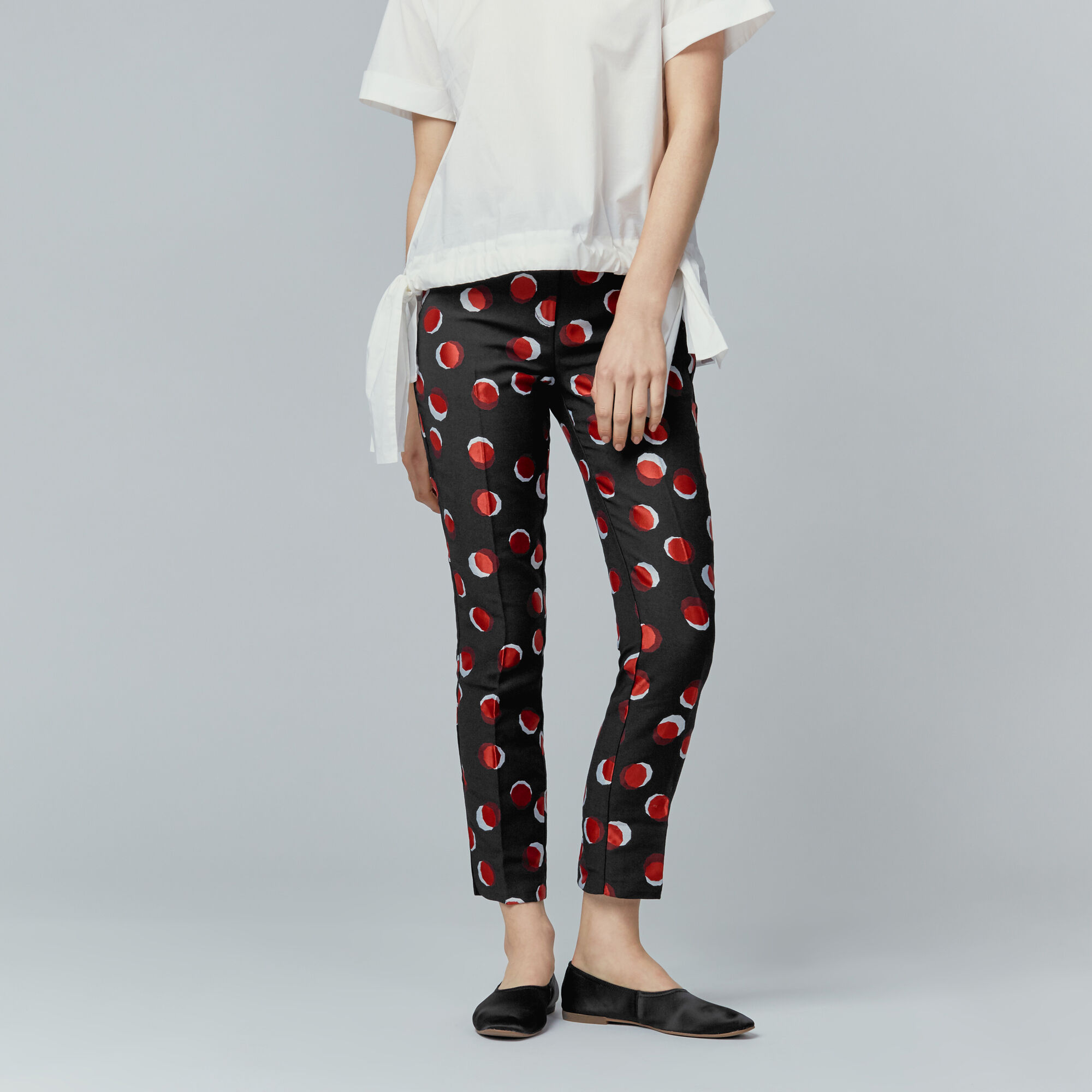 Warehouse, TOFFEE PENNY TROUSERS Multi 1